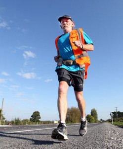 Newburn will celebrate his 60th birthday during his record run.