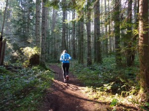 Despite beautiful weather and beautiful trails I still struggle trying to find my love of running.