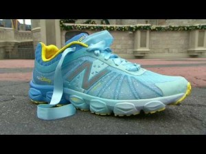 New Balance Cinderella shoes from runDisney!