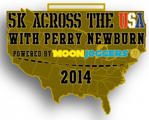 Run virtually with Perry in our 5K Across the USA event!