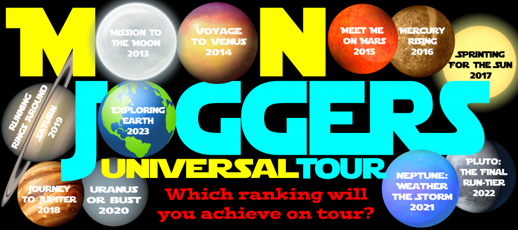 Moon Joggers Running Group Universal Tour