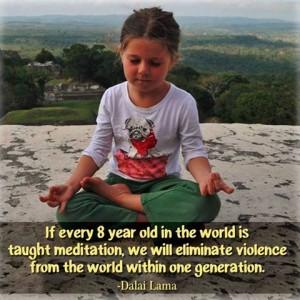 Meditation Eliminates Violence