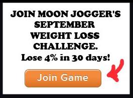 running weight loss challenge September 2014