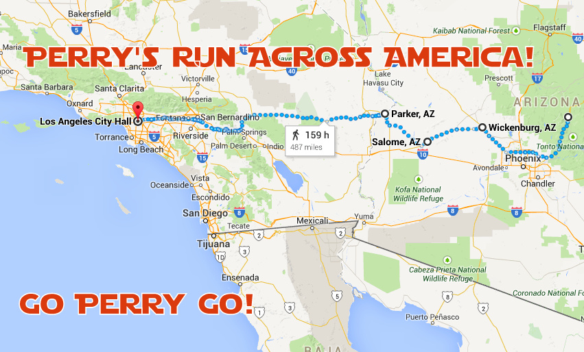 Click the map for more details on our route!