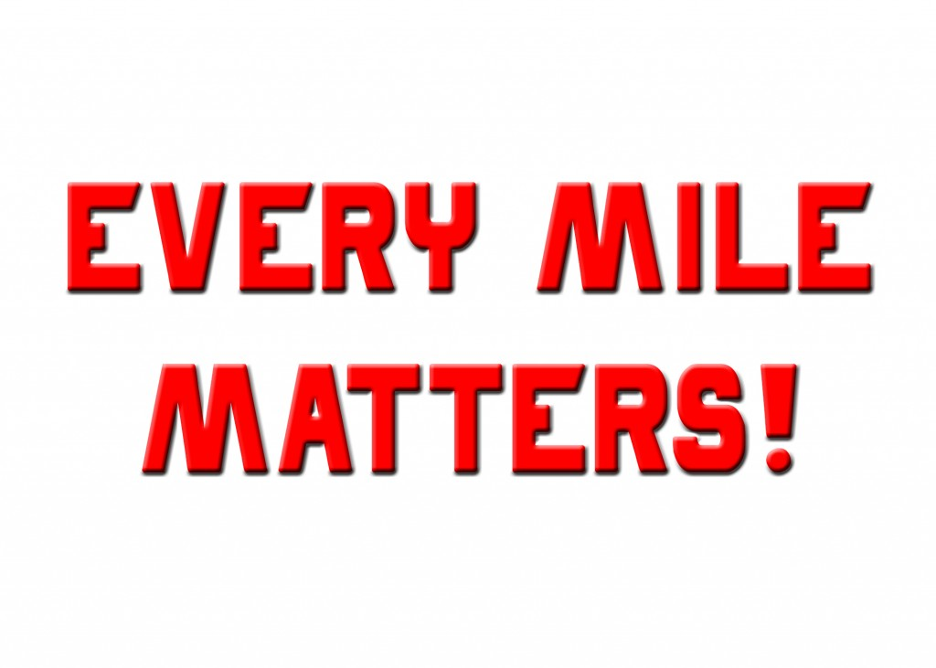 EVERY MILE MATTERS