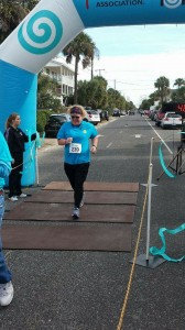 My Very First 5K Folly Beach SC November 2014